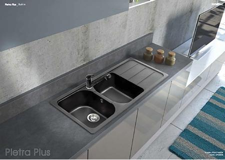 Offerta Promozionale!!! Lavello Cucina 2 Vasche Pietra Plus ...