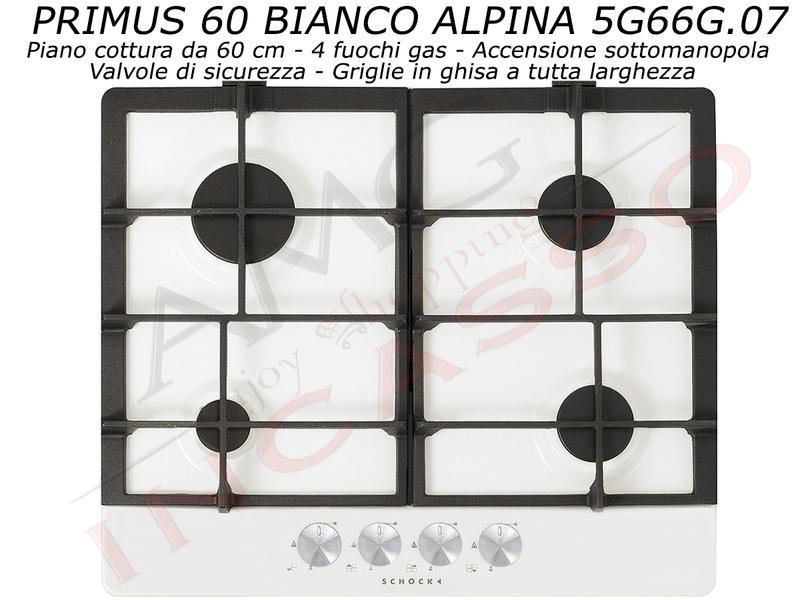 Offerta Promozionale Piano Cottura Cucina Primus cm.60 4 Fuochi ...