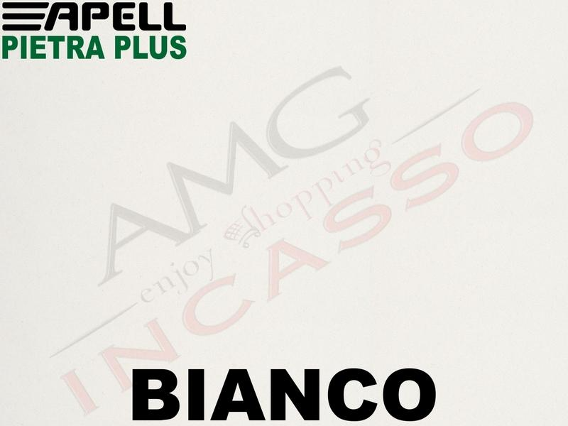 Lavello Fragranite Incasso New Pietra Plus 1 Vasca cm.86X50 Granito Bianco