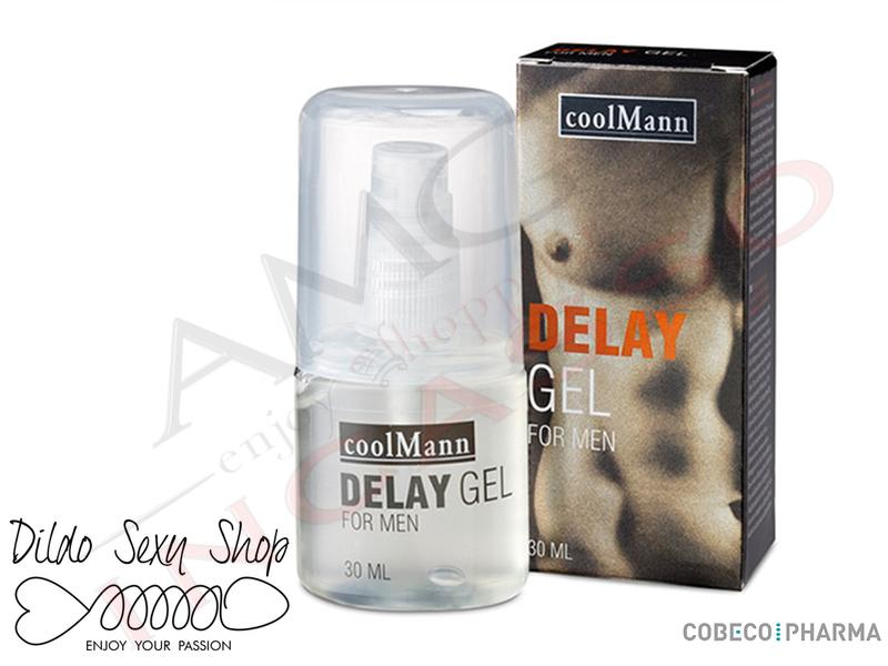 Gel Ritardante Eiaculazione Precoce CoolMann 00500277 Delay Gel 30 ml