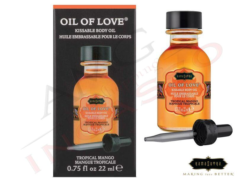 Olio Baciabile Oil of Love® olio corpo Aromatizzato Tropical Mango 22 ml