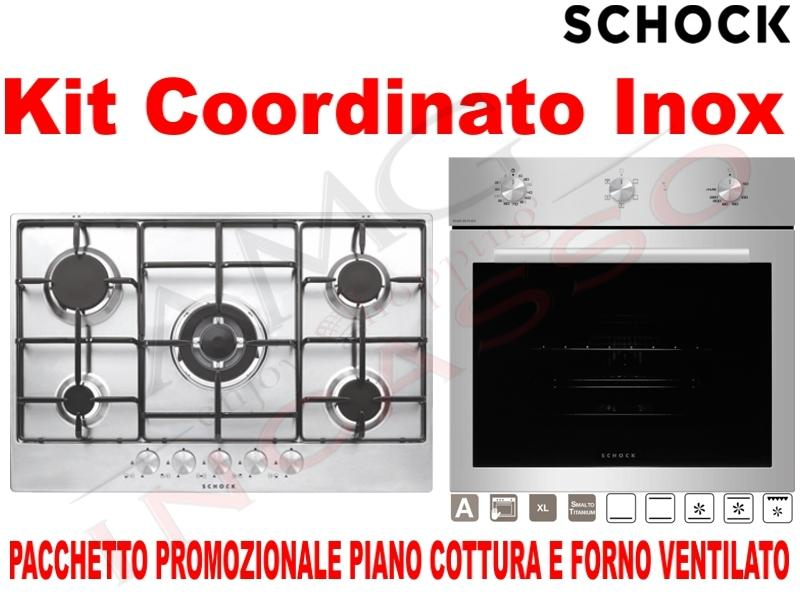Offerta Promozionale Pacchetto Acciaio: Piano Cottura cm.75 • Forno ...