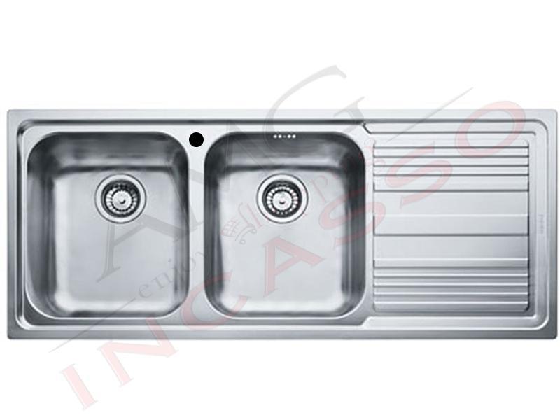 Lavello Franke Logica Line - LLX 6211160 X 500 2 Vasche Sinistre con ...
