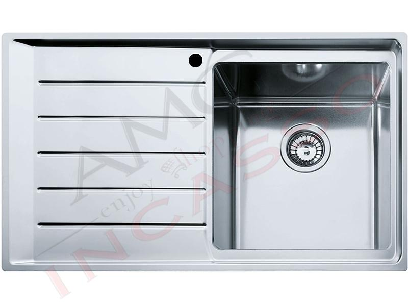 Lavello Franke Neptune Plus - NPX 611 860 X 500 1 Vasca Destra con ...