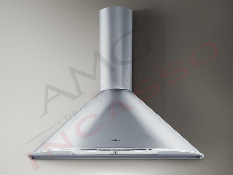 Cappa Elica TONDA IX F/60 cm. 60 incasso cucina Acciaio inox Motore ...