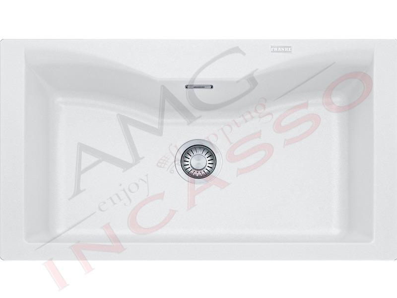 Accessori Lavello Franke Acquario.Lavello Acquario Franke Cg610 N Bianco 9899966 86x50 1 Vs Bianco