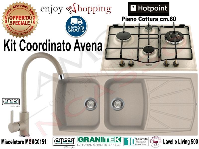 Kit Avena Lavello Lgl50051 116x50 2v E Gocc Miscelatore Mgkc0151