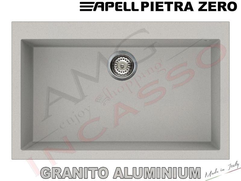 Lavello Cucina 1 Vasca Vascone Pietra Zero Fragranite cm.79X50 ...