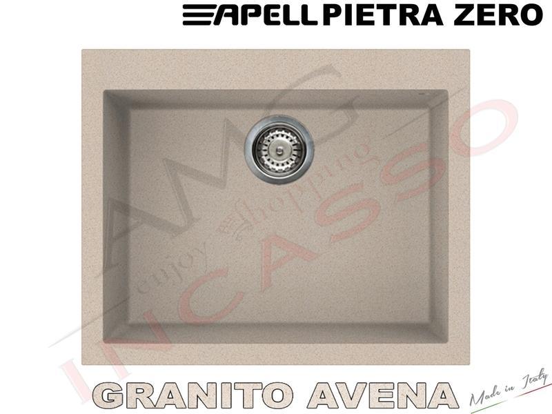 Lavello Fragranite Incasso New Pietra Plus 1 Vasca cm.78X51 Antracite