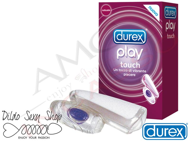 Stimolatore Vaginale Clitorideo Durex Play Touch Trasparente